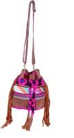 IndiWeaves Multipurpose Bag(Multicolor, 11 inch)