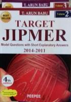 Target Jipmer Pgmee Vol 2 & 3 set - target jipmer(English, Paperback, T. Arun Babu)