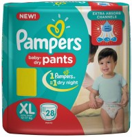 Pampers Pants Diapers - XL(28 Pieces)