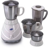 GLEN 4022 220 Mixer Grinder(White, 3 Jars)