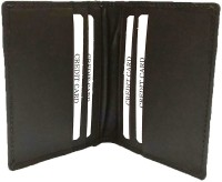 Leather Home Men Brown Genuine Leather Card Holder(6 Card Slots)