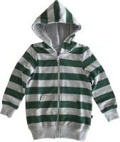 KiddoPanti Full Sleeve Striped Boys Jacket