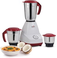 Kenstar MG-0120 SS 500 Mixer Grinder(Cherry Red, 3 Jars)