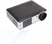 PLAY 5000 lumens Full HD, HDMI, USB Portable 1920 x 1080P, 3D LED Projector 5500 lm LED Corded Portable Projector(Black)