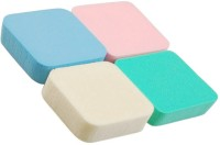 DzVR mported Make Up Cosmetic Conceler Powder Foundation Sponge Multicolor (Pack of 4) - Price 100 66 % Off