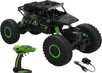 SANJARY Good quality high speed 2.4Ghz Remote Controlled Rock Crawler, RC Monster Truck 4WD, Off Road Vehicle (Green)(Green)