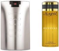 Sapil Quest Men Perfume with Revival Women Perfume Body Spray  -  For Men & Women(280 ml, Pack of 2)