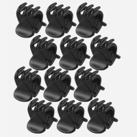 Sapna FX Black Hair Clips Set (12)-Sapna FX 205 Hair Clip(Black) - Price 119 80 % Off