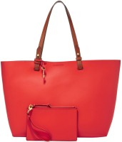 Fossil Tote(Red)