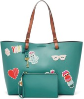 Fossil Tote(Green)