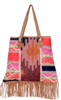 IndiWeaves Shoulder Bag(Multicolor, 18 inch)