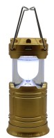 View Impro Solar Lantern Torch Light LED With Mobile Rechargeable Emergency Lights(Gold) Home Appliances Price Online(Impro)