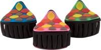 Sapna FX Multi colour Hair Clips Set (3)-Sapna FX 203 Hair Claw(Multicolor) - Price 119 80 % Off