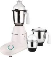 Kanchan Trimi White 550 Mixer Grinder(White, 3 Jars)