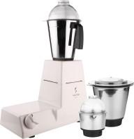 Kanchan Twister White 550 Mixer Grinder(White, 3 Jars)