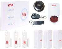 View D3D Model With 3 Pir Sensor+3 Door Sensor+1 Wireless Doorbell and Outdoor Siren + 2 Remote, Wireless WiFi/GSM Sensor Security System Model:D10 Wireless Sensor Security System Home Appliances Price Online(D3D)