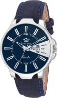LimeStone LS2666 Free Size Day and Date Functioning Watch - For Men