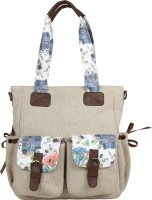 Angesbags Shoulder Bag(Beige, 5 inch)