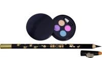 Adbeni 4in1 Eyeshadow, Eyelipliner By Viveka(Set of 2) - Price 125 52 % Off