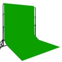 BOOSTY 8 x12 FT GREEN LEKERA BACKDROP Reflector