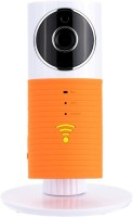ShopyBucket CLEVER Dog Wifi Wireless Security WiFi Surveillance Remote View Camera Panoramic Camera 180 ° HD Wireless Camera with Two Way Audio, Vista Remote Video Motion Detect Remote and Night Vision Fun Top 18 Instant Camera(Orange)