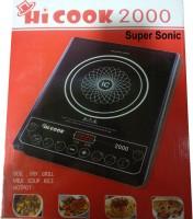 Hi Cook 2000 Induction Cooktop(Black, Push Button)