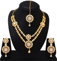Atasi International Alloy Jewel Set(Gold)