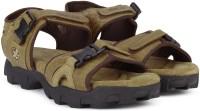 Woodland Leather Men Tan Sandals