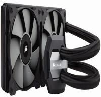CORSAIR COOLER H100i LIQUID CPU COOLER Cooler(Black)