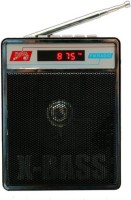 Mezire X Bass SL - 413 USB / SD Player With FM Radio FM Radio(Black)