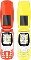 I Kall K3312 Combo(Red and Yellow) - Price 1499 25 % Off