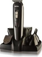 Nova NG 1151 100 % waterproof Corded & Cordless Grooming Kit for Men(Black)