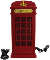 View Tootpado Landline Telephone London Phone Booth Shape - Red (ELEj032) - Office Phone Corded Landline Phone(Red) Home Appliances Price Online(Tootpado)