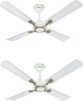 View Havells Leganza 4B 4 Blade Ceiling Fan(Pearl White Silver) Home Appliances Price Online(Havells)