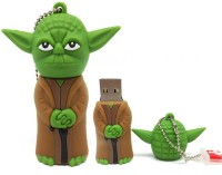 TRONIKX Cartoon Character 32 GB Pen Drive(Green, Brown)