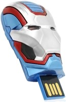 TRONIKX Iron Man Magnetic USB 2.0 32 GB Pen Drive(Silver)