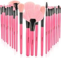 Foolzy 24 Professional Makeup Brush Set with Travel Case(Pack of 24)