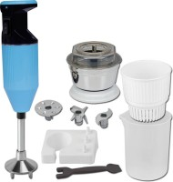 XCCESS Metallic Light Blue 300 W Hand Blender(Light Blue)