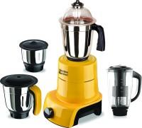 SilentPowerSunmeet MG17-MAC-Gla-96 800 W Juicer Mixer Grinder(Yellow, 4 Jars)