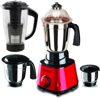 Sunmeet MG17-TAC-Gal-140 750 W Juicer Mixer Grinder(Red, 4 Jars)