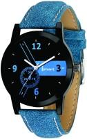 Ismart Men& Boys Blue Wrist Watch Blue Smartwatch(Blue Strap 30 mm)