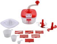 jony 10in1 Food Processor Slicer Grater Mixer Chopper 250 W Food Processor(Red)