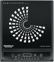 Maharaja Whiteline IC-CF Induction Cooktop(Black, Touch Panel)