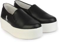 Shoelover Slip On Sneakers(Black)