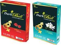 darkbull Rose & Jasmin Condom(Set of 2, 20S) - Price 112 30 % Off