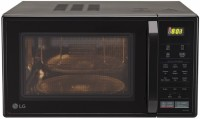 LG 21 L Convection Microwave Oven(MC2146BV, Black)