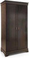 RoyalOak Sydney Solid Wood 2 Door Wardrobe(Finish Color - Honey Brown)