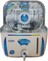 View Ruby Electrical 12 L RO + UV Water Purifier(White and Blue) Home Appliances Price Online(Ruby)