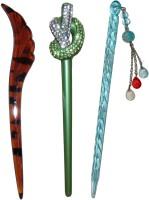 Aaki combo of juda sticks Bun Stick(Multicolor) - Price 450 77 % Off
