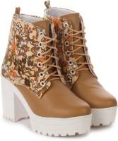 London Steps Boots For Women(Multicolor)